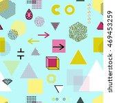 trendy geometric elements... | Shutterstock .eps vector #469453259