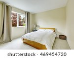 bedroom interior in light tones ... | Shutterstock . vector #469454720