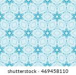 abstract flowers. blue.... | Shutterstock .eps vector #469458110