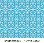 abstract flowers. blue.... | Shutterstock .eps vector #469458350