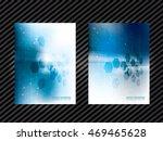 corporate identity template... | Shutterstock .eps vector #469465628