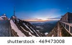 Sunrise On Pic Du Midi De...
