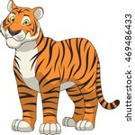 adult funny tiger | Shutterstock .eps vector #469486433