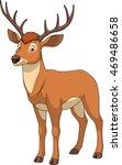 adult funny deer | Shutterstock .eps vector #469486658