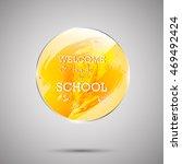 education logo vector design.... | Shutterstock .eps vector #469492424