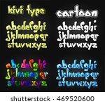 creative lowpoly alphabet set   Shutterstock .eps vector #469520600