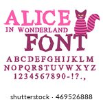 Alice In Wonderland Font. Fair...