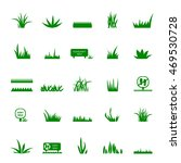 grass and signs icons set  ... | Shutterstock .eps vector #469530728