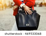 elegant outfit. close up of... | Shutterstock . vector #469533068