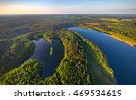 aerial photo of lakes in... | Shutterstock . vector #469534619