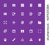 action vector icons 17   Shutterstock .eps vector #469535384