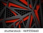 Gray And Orange Carbon Fiber...