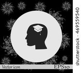 human profile vector icon | Shutterstock .eps vector #469559540