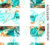 watercolor seamless patchwork... | Shutterstock . vector #469597079