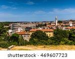 cityscape of pula  croatia | Shutterstock . vector #469607723