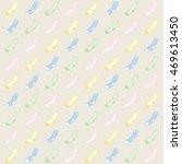 rain of socks of different... | Shutterstock .eps vector #469613450