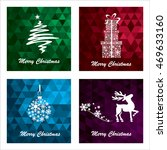 collection of christmas... | Shutterstock .eps vector #469633160