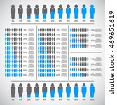 people percentage infographic... | Shutterstock .eps vector #469651619