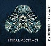 vector tribal abstract element... | Shutterstock .eps vector #469661969