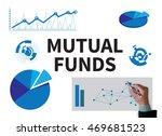 mutual funds businessman work... | Shutterstock . vector #469681523