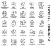 icons set global business ...   Shutterstock .eps vector #469683653
