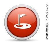 golf  icon   Shutterstock .eps vector #469717670