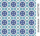 tile floor   mosaic tiled... | Shutterstock .eps vector #469722740