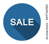 sale icon  vector  icon flat