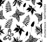 seamless pattern with hand...   Shutterstock .eps vector #469764053