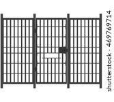 vector illustration prison bar... | Shutterstock .eps vector #469769714