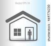 home vector icon | Shutterstock .eps vector #469776230