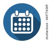 calendar icon  vector  icon flat