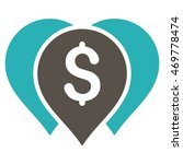 money map markers icon. vector... | Shutterstock .eps vector #469778474