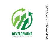 development   vector logo... | Shutterstock .eps vector #469799648