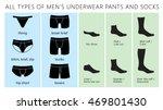 all types of men's underwear...   Shutterstock .eps vector #469801430
