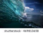 beautiful ocean background big...   Shutterstock . vector #469813658