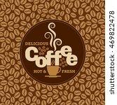 coffee design template ...   Shutterstock .eps vector #469822478