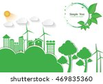 ecology connection  concept... | Shutterstock .eps vector #469835360