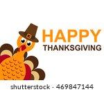 card for thanksgiving day vector | Shutterstock .eps vector #469847144