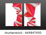3d abstract geometric shapes.... | Shutterstock .eps vector #469847450