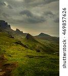 northern european highland... | Shutterstock . vector #469857626