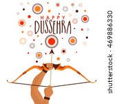 happy dussehra celebration... | Shutterstock .eps vector #469886330