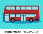 city transport vector flat... | Shutterstock .eps vector #469892219