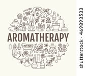 aromatherapy and essential oils ... | Shutterstock .eps vector #469893533