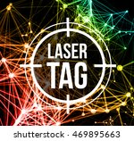 laser tag with target | Shutterstock .eps vector #469895663