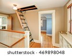 hallway interior with folding... | Shutterstock . vector #469898048