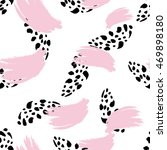 abstract hand drawn brushstroke ...   Shutterstock .eps vector #469898180