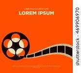 Movie Film Reel And Strip...