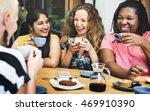 diversity women socialize unity ... | Shutterstock . vector #469910390