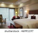 Stock photo hotel room interior 46991197